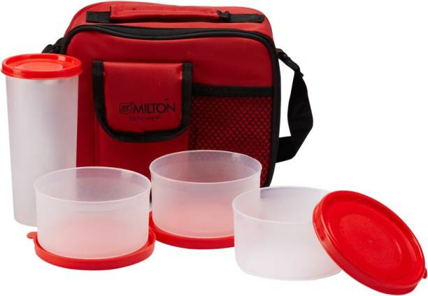 MILTON Meal Combi with Tumbler 3 Containers Lunch Box