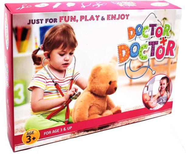 Saffronworld Metalic Doctor set for Kids Just Like A Real Kit