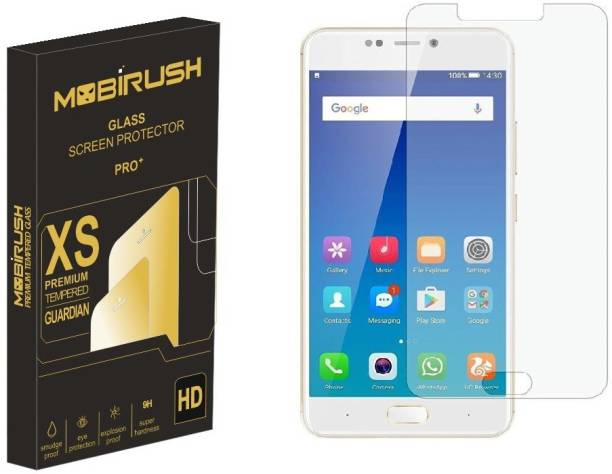 MOBIRUSH Tempered Glass Guard for Gionee A1 Plus