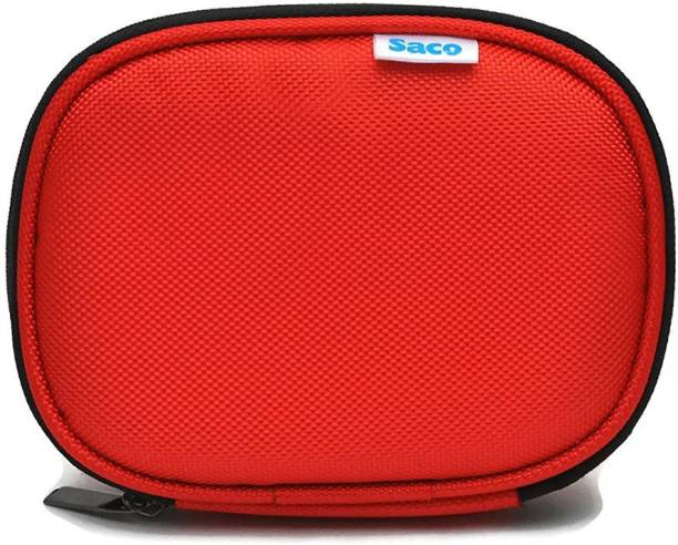 Saco Back Cover for WD Passport Ultra 2.5 inch 2 TB External Hard Drive (Red, , Artificial Leather)