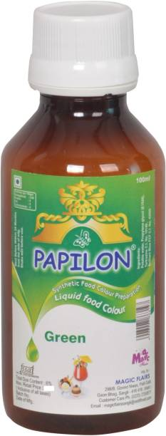 PAPILON CONCENTRATED FOOD COLOUR PREPARATION GREEN - 100ML Green
