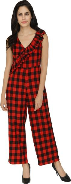 6a5782c03f0 Red Jumpsuits - Buy Red Jumpsuits Online at Best Prices In India ...