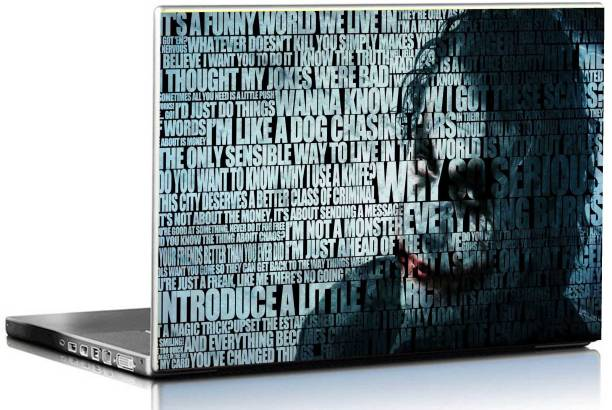 Printclub Joker Laptop Sticker 15.6 inch-Laptop Skin-2018-113 Vinyl Laptop Decal 15.6