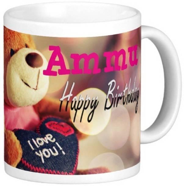 Exocticaa Happy Birthday Ammu Ceramic Coffee Mug