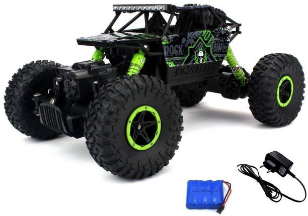 Xhaiden Rock Crawler Off Road Race Monster Truck 4WD 2.4GHz, Green
