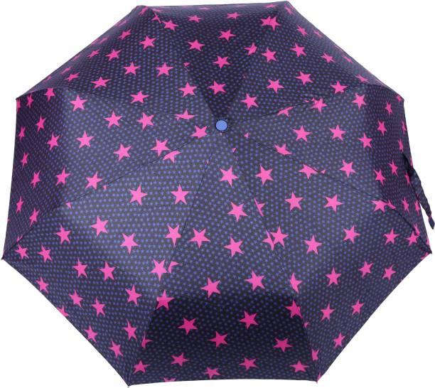 43730f552 FabSeasons Printed Semi Automatic 3 fold Umbrella for Rains, Summer and all  Seasons Umbrella