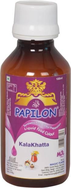PAPILON CONCENTRATED FOOD COLOUR KALAKHATTA 100ML Purple