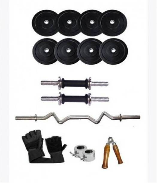 N.VCOMMUNICATION24X7 BEST QUALITY 8 KG HOME GYM COMBO FOR FITNESS Gym & Fitness Kit