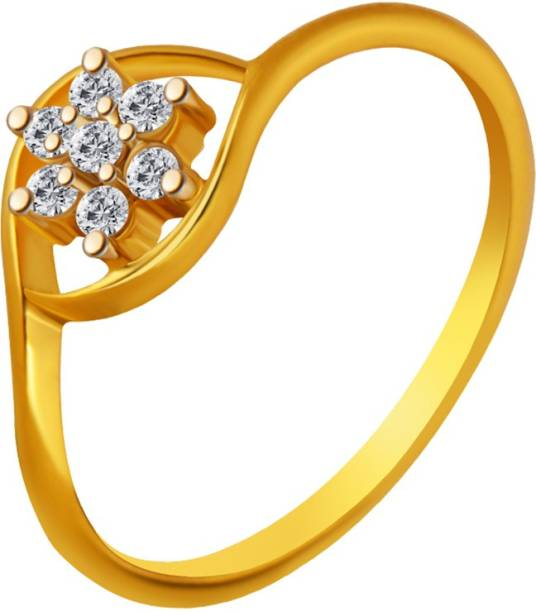 ccc8fd9c3810ff Gold Rings - Buy Gold Rings For Women/Girl Online At Best Prices In ...