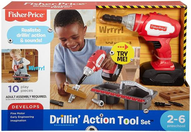 FISHER-PRICE Drillin' Action Tool