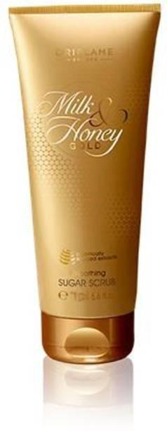 Oriflame Sweden Milk & Honey Gold Smoothing Sugar Scrub - 75 g Scrub