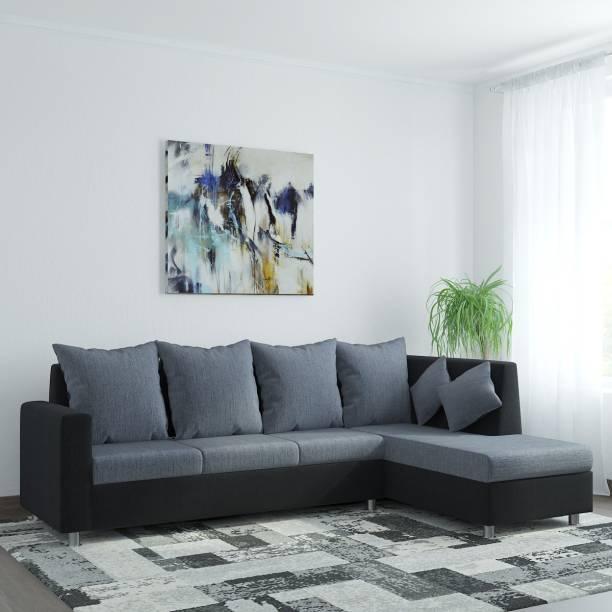 WESTIDO Neptune Fabric 6 Seater  Sofa