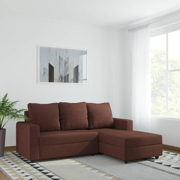 WESTIDO Amrind Fabric 5 Seater  Sofa