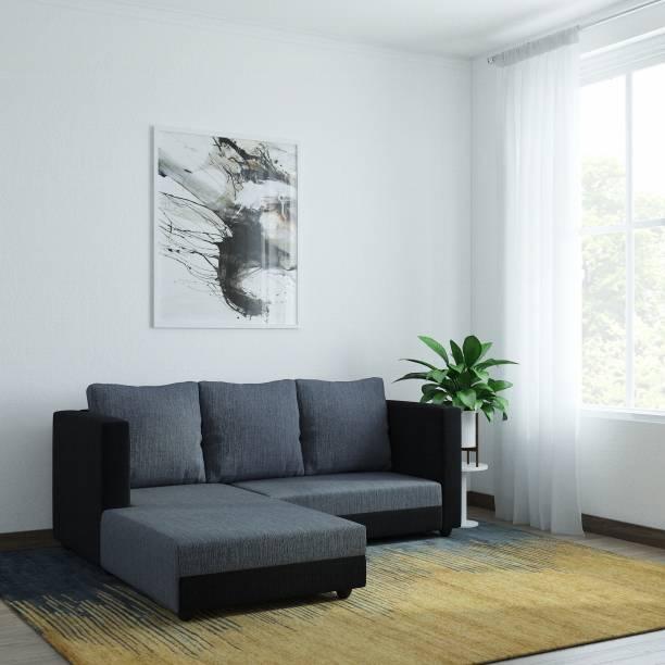 WESTIDO Gundoldo Fabric 5 Seater  Sofa