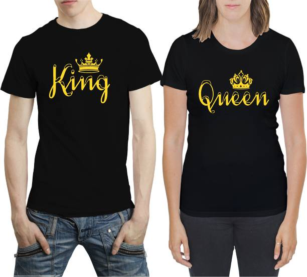 da9bdbb8b Couple T Shirts - Buy Couple T Shirts online at Best Prices in India ...