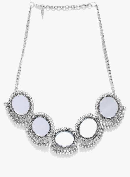 4cccaac7b1260 Oxidised Silver Jewellery Necklaces - Buy Oxidised Silver Jewellery ...