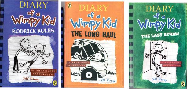 Set Of 3 Diary Of Wimpy Kid By Jeff Kinney