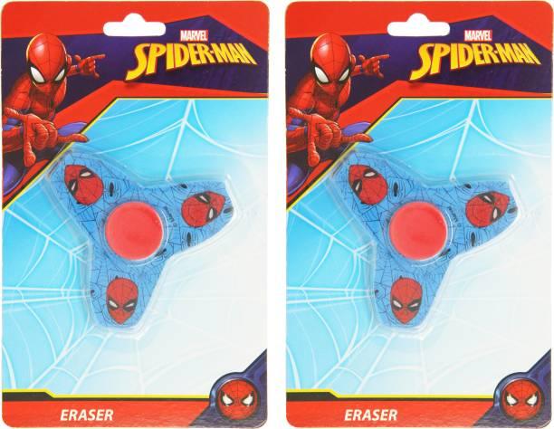 MARVEL SPIDERMAN Fidget SPINNER ERASER - HMWSER 00795-SPM [2 PCS]