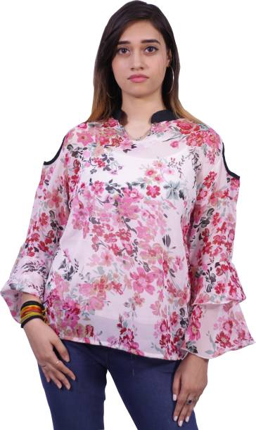 c61cba40c42 Floral Tops - Buy Floral Tops Online For Women at Best Prices In ...