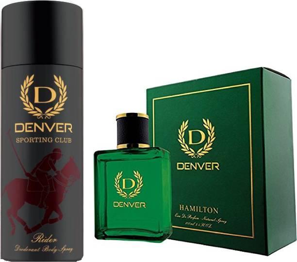 DENVER Sporting Club New Rider Deodorant With Hamilton Perfume