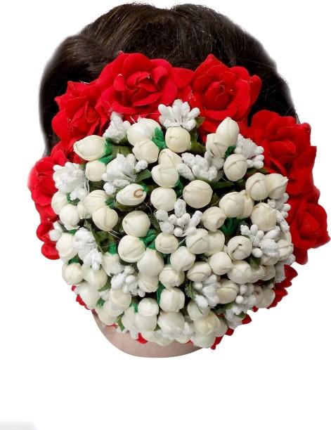 Confidence South Indian Bridal Girls U0026 Women Wedding Juda Decoration Gajra  (Veni) | Flower