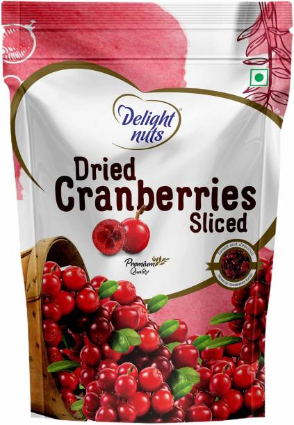 Delight nuts Dried Cranberries Sliced 200g Cranberries