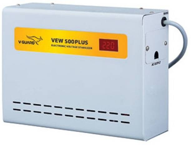 V-Guard VEW 500 PLUS FOR AC UP TO 2 TON (90V-300V) VOLTAGE STABILIZER