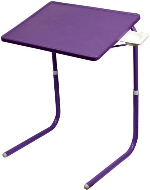 Multi-Table Mate Multi Purpose Table Purple Plastic Portable Laptop Table