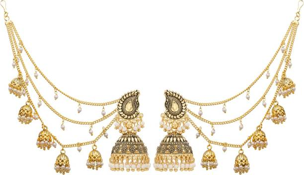 Jewellery & Watches Gold Plated Maang Tikka Partywear Wedding Bridal New Ethnic Partywear 424 Moderate Cost