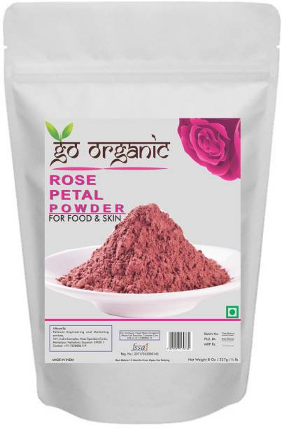 Nature's Secret Export Quality Rose Petal Powder for skin and food