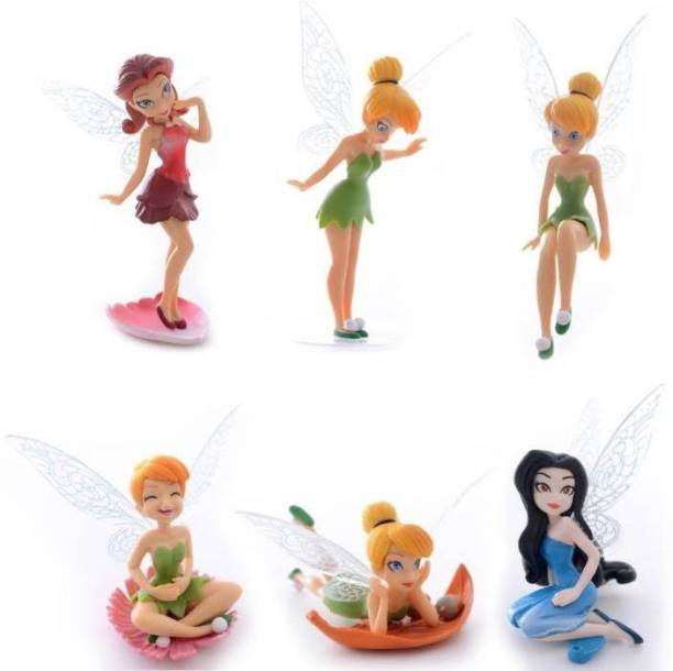 P s retail Tinker Bell Cartoon Fairy Princess Doll Action Figures Toy