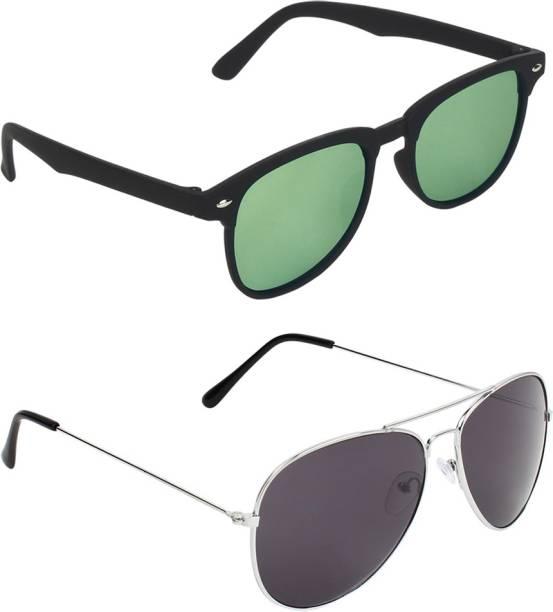 0d27e8f8620 Rectangular Sunglasses - Buy Rectangular Sunglasses Online at Best ...