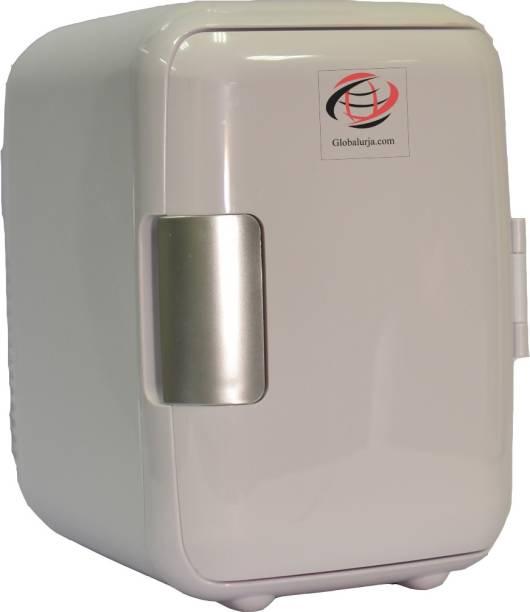 Globalurja.com White Cool & Warm Car Refrigerator 4 L Car Refrigerator