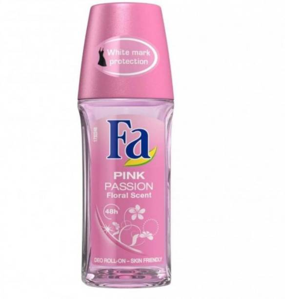 FA Deodorant Roll on Pink Passion Floral Scent Deodorant Roll-on  -  For Men & Women
