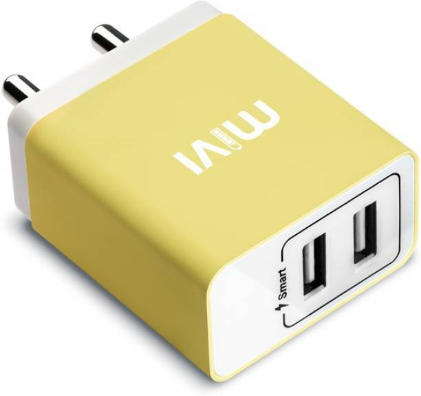 Mivi 3.1A Dual Port Smart Wall 15.5 W 3.1 A Multiport Mobile Charger