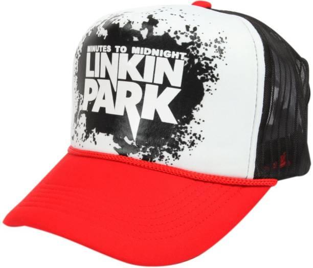 GVC Halfnet Cap Linkin Park Red Halfnet Cap Linkin Park Red Cap 9c6a248e975e