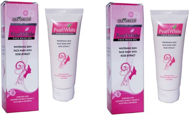 ZEE DRUGS Pearl White Rose Extract Face Wash
