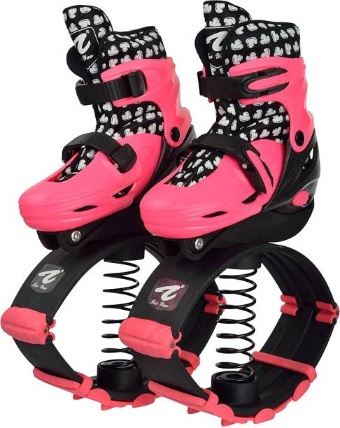 IRIS Jumping Shoes Adult Children Bounce Shoes In-line Skates - Size 1-4 UK