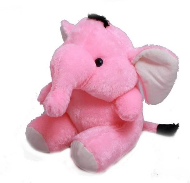 ARD ENTERPRISE Original Sitting Elephant,Premium Quality,Non-Toxic Super Soft Plush Stuff Toys for all age groups  - 30 cm