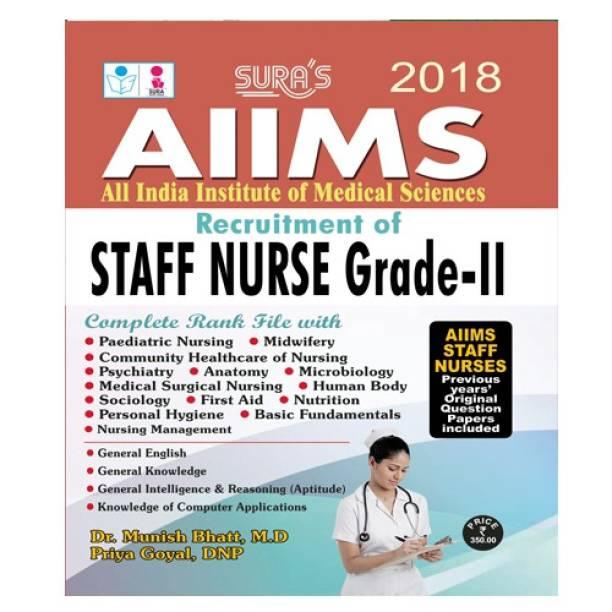AIIMS Staff Nurse Exam Study Material Books 2018