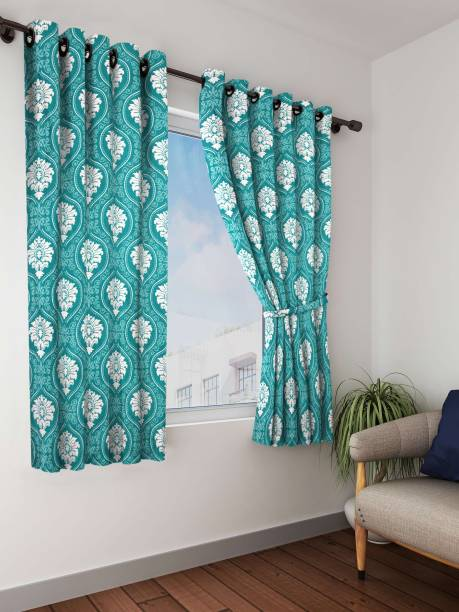 Bombay Dyeing 153 Cm 5 Ft Polyester Window Curtain Pack Of 2