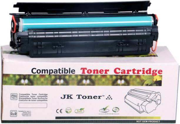 JK Toners 36A Black Toner Cartridge CB436A Compatible with HP P1505 P1505n M1522nf M1522n M1120n M1120 Printers Black Ink Cartridge