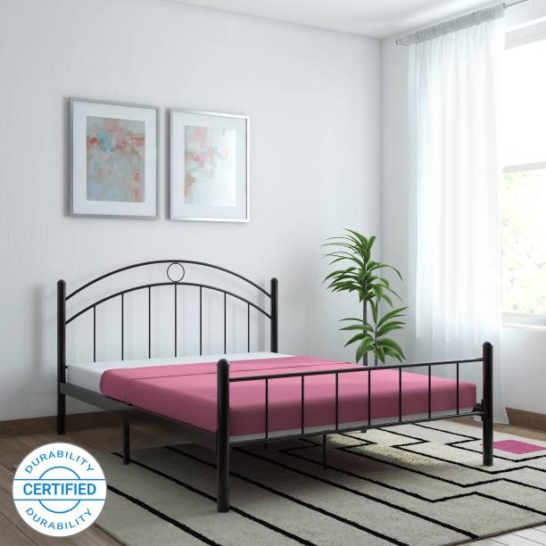 FurnitureKraft Nancy Metal Queen Bed