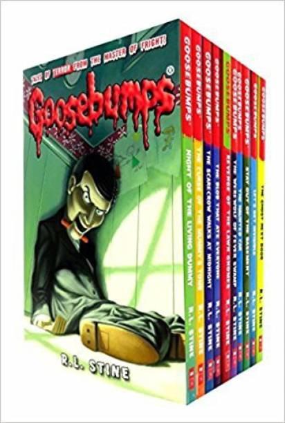 GOOSEBUMPS 10 BOOKS SET