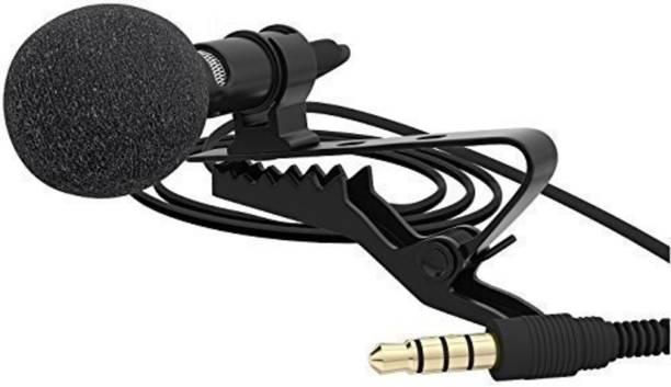 SCORIA Mini Clip-on 3.5mm Collar Mic Recording For Laptop Camera Microphone