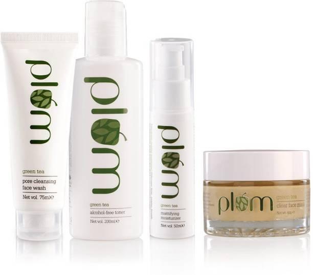 Plum Green Tea Face Care - Full Set