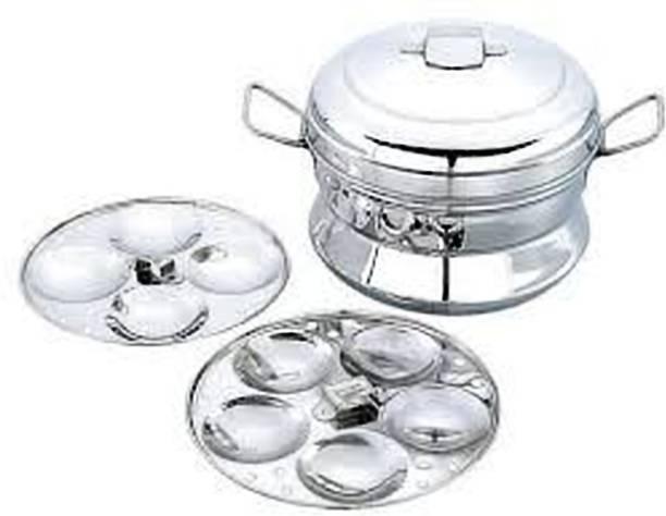 529e078c1 Diamond 2 Plates Stainless Steel Idly Cooker - 9 Idlies small Standard Idli  Maker