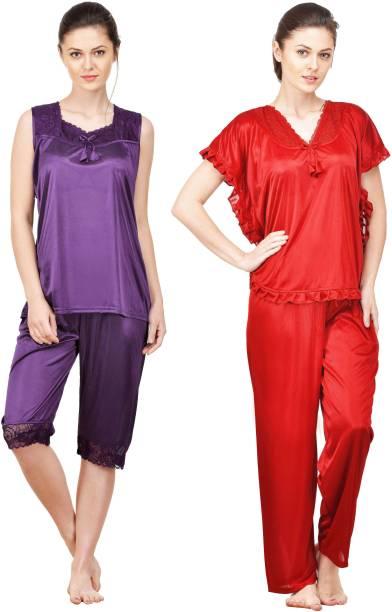 a3b5debd4b9ae1 Full Sleeve Half Sleeve Night Suits - Buy Full Sleeve Half Sleeve ...