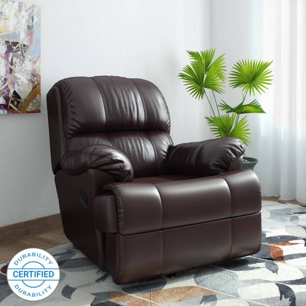 Westido Faux Leatherette Manual Recliners Recliner Finish Color   Brown, DIY Do It Yourself