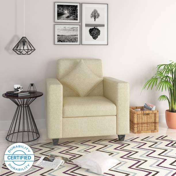 Flipkart Perfect Homes Bonn Fabric 1 Seater Sofa
